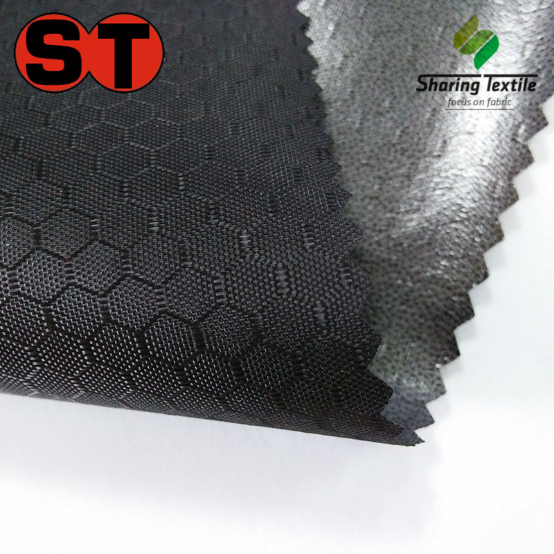 Wholesale 150D Honeycomb Jacquard Oxford Fabric/150D Honeycomb Oxford Fabric/Polyester 150D Honeycomb Dobby Fabric