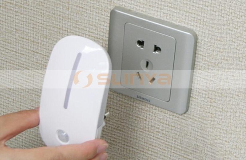 Motion Sensor Led Night Light Plug In Light Used For Children ...