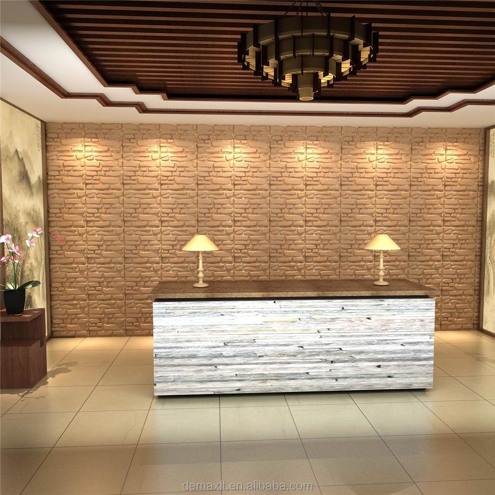 Dbdmc sala di ricevimento decorativi 3d pannello murale 3d for Carte parati decorative