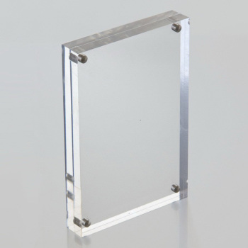 4x6 5x7 Clear Acrylic Picture Frames Wholesale Custom Magnet Frame