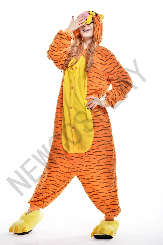 Tigger fleece pajamas Sleepwear Cosplay Adult Unisex Cartoon Costumes Pajamas  sc 1 st  Alibaba & Cheap Adult Tigger Costumes find Adult Tigger Costumes deals on ...