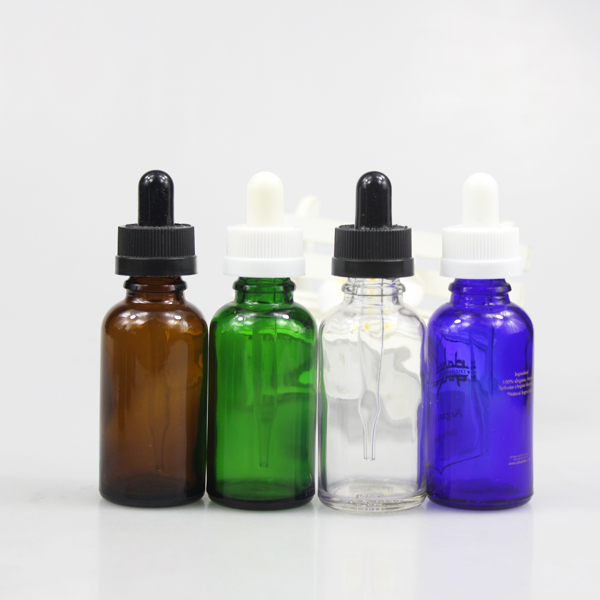 spray pump glass material essential oil glass bottle 100ml