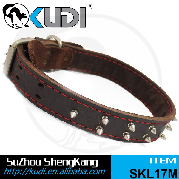 Genuine Leather Dog Collar & Leads