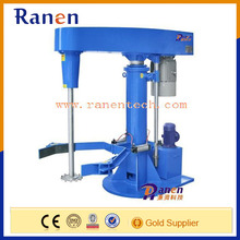 Factory batch mixing and dispersing machine