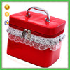 YTF-P-HZB022 Fashion Red PU Leather Hard Makeup Case