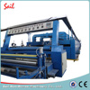 Reliable quality nonwoven dipping and tentering machine