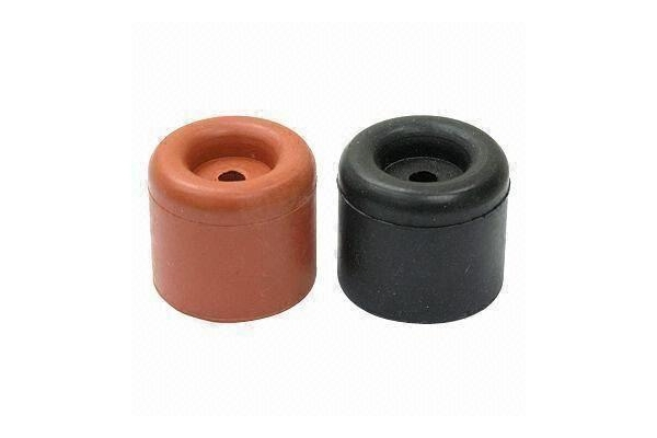 Rubber Furniture Feet With Screw And Rubber Wedge Door Stopper