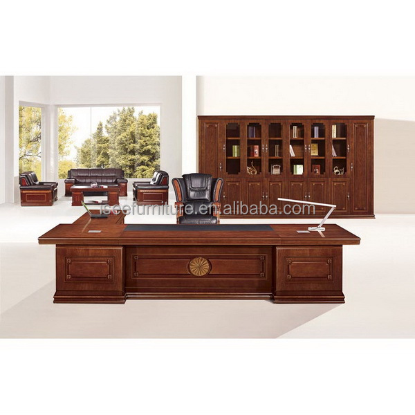 antique solid wood executive office furniture for