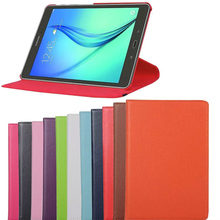 360 Degree Rotating Leather Cover For Samsung GALAXY Tab A T550 Cases T555 9.7inch with Stand Holster Protect Shell Tablets Case