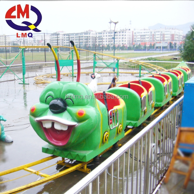 Children Game Equipment caterpillar rides small roller coaster for Sale