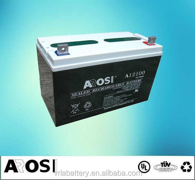 12V 100Ah VRLA Deep Cycle AGM Battery Solar dry cell Battery