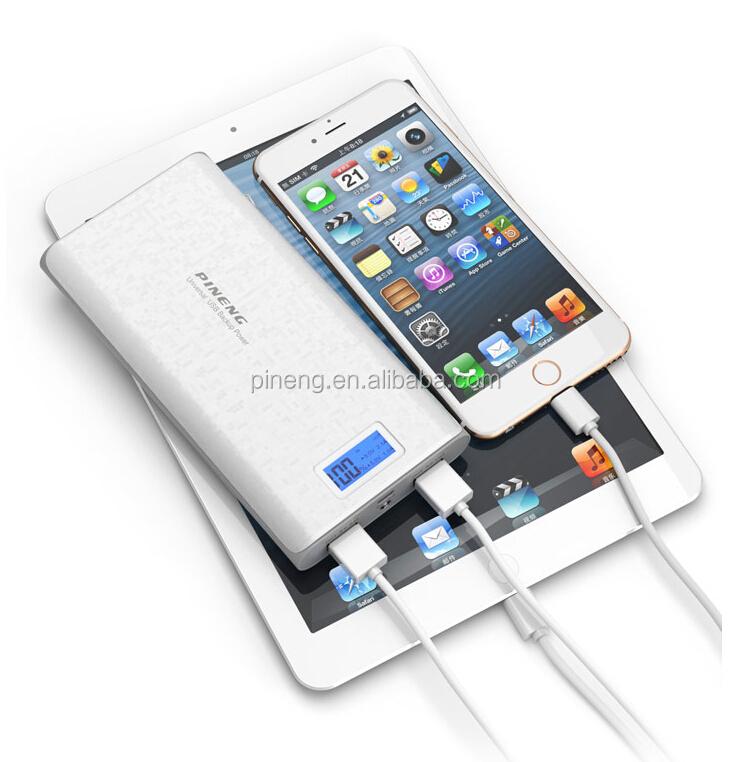 New Pineng 920 Portable Power Bank 20000mah For Iphone/ipad ...