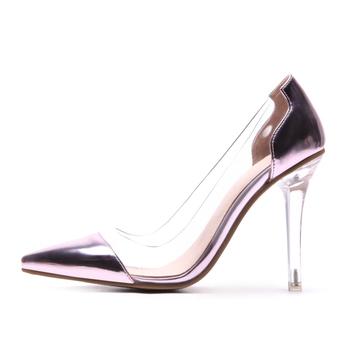 Neue Ankunft Transparent Heels Schuhe Pvc Pumps Niedrigen Preis Spitz Frauen High Heel Schuh Hochzeit Pumpen Buy Frauen High Heel Job Schuh,Korea