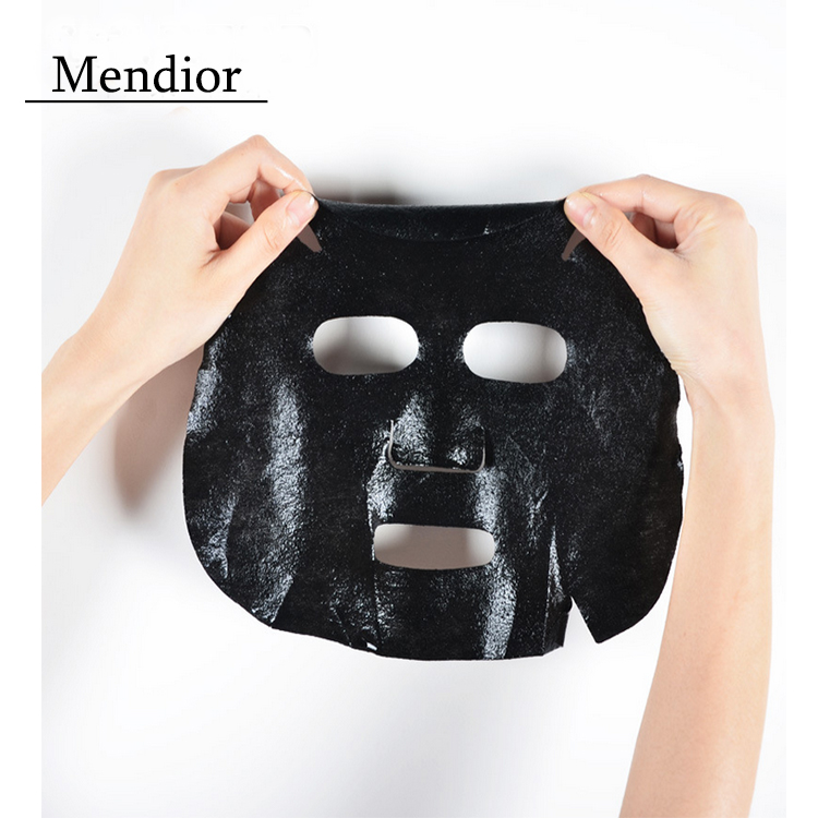 Mendior Deeply clean matte hydrating whitening black mask Black bamboo charcoal face mask