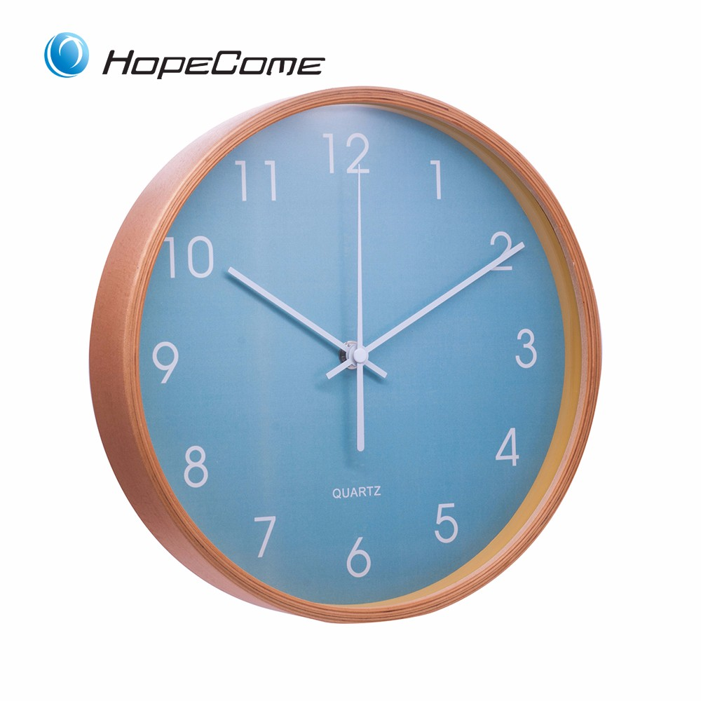 New Style Design Large Wood Wall Clock Wholesale