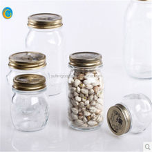 Glass Material and foo Use clear glass jar