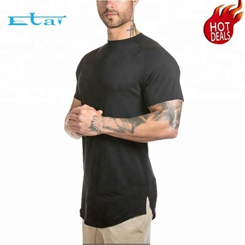 China High Quality Dry Fit Cheap Custom Printed Gym Clothing Men T Shirt