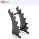Plastic 6-Slots Eyebrow Fountain Pen Pencil jewelry Makeup Brush Display Frame Stand Rack Holder Organizer For Home Office