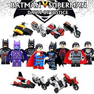 8pcs/set-Super-Heroes-Batman-V-Superman-Dawn-Of-Justic-Minifigures-Building-toys