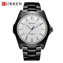 Мужские часы CURREN, спортивные, армейские, водонепроницаемые, аналоговые, стальные(Китай)