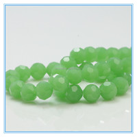 faceted round glass beads for jewellery czech crystal beads wholesale