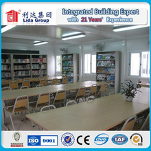 High construction efficiency easy assembly high quality accommodation/hotel/classroom prefabticated container house
