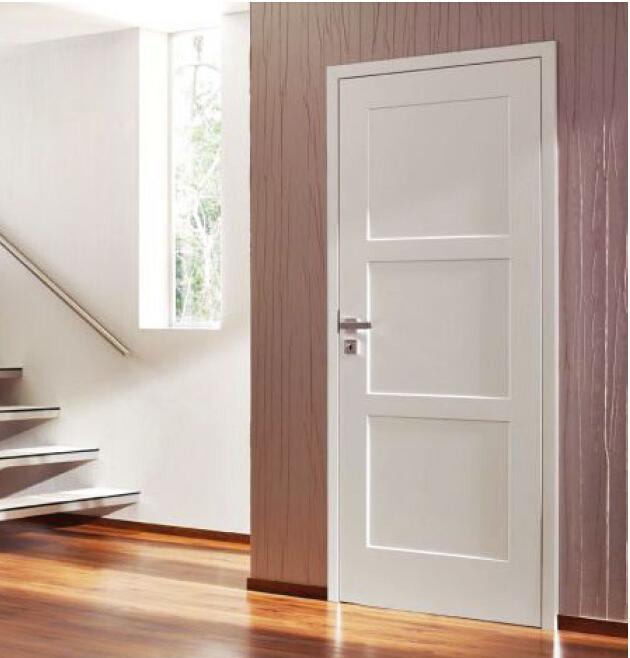 White Primed Stile And Rail Mdf Wooden Door Buy Mdf Door