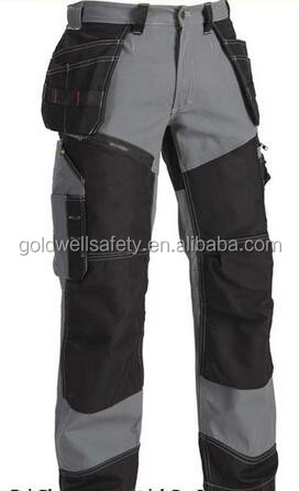 Mens Ripstop Heavy-duty Cargo Work Pants Multi Pockets Cordura ...