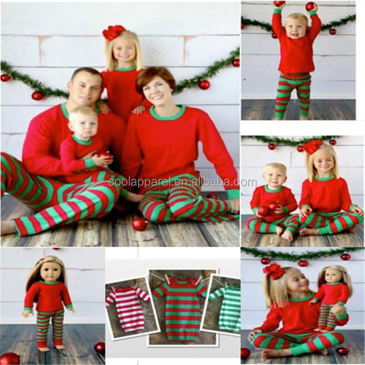9440055ffd74b4 Atacado Em Estoque Inverno Crianças Tarja Pyjama Família Natal Pijamas -  Buy Família Pijama Natal,Crianças Stripe Pajama Pijamas Família ...
