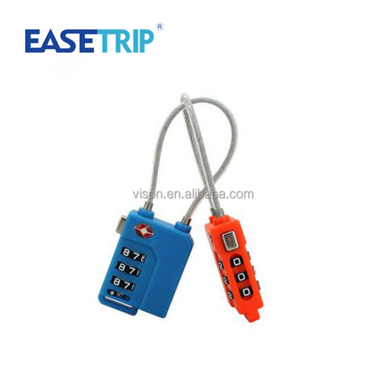 Wholesale Hot Sale Travel Safe ABS Plastic Cipher Lock