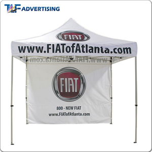 Brand promotional advertising events 3 x 3 printed marquee folding canopy tent with custom logo