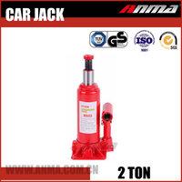 Red portable Manual mini automatic 2 ton 12 volt electric hydraulic car jack AM10002