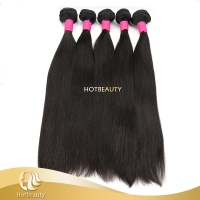 wholesale 1b# 100g straight human hair weave brazilian virgin remy 100% human hair bundles