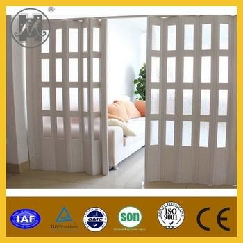 Glass Pvc Folding Door,Pvc Slding Door Price For Interior,Bathroom ...