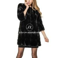 Wholesale Cheap Classic Mink Fur Coat, Casaco De Peles with cheap price