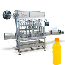 0.5% error automatic glass bottle fruit juice filling machine