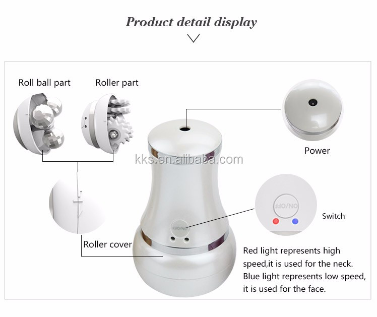 Kakusan body slimming electric rotating beauty roller massager