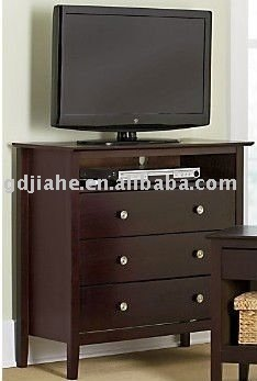 Living Room Lcd Tall Fashionable Mdf 40 Inch Tv Stand With Drawers