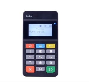 Best price for mini point of sales pos terminal Bluetooth MPOS with PCI,  EMV, VISA, Master, with Bluetooth wifi connection MP45