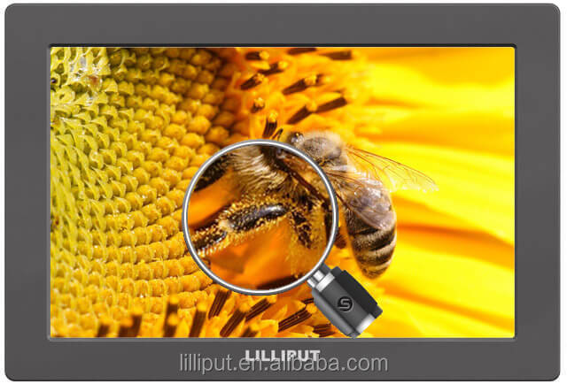 LILLIPUT 7 inch 3G SDI Monitor with HDR, 3D-LUT