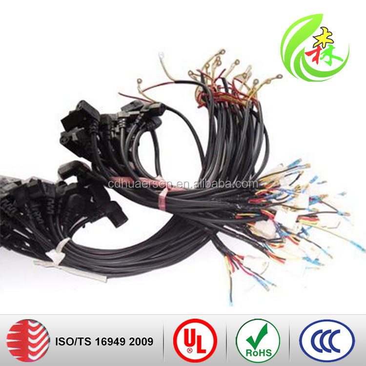 Fantastic Female Auto Connector With Rubber Boot Electrical Wiring Harness Wiring 101 Orsalhahutechinfo