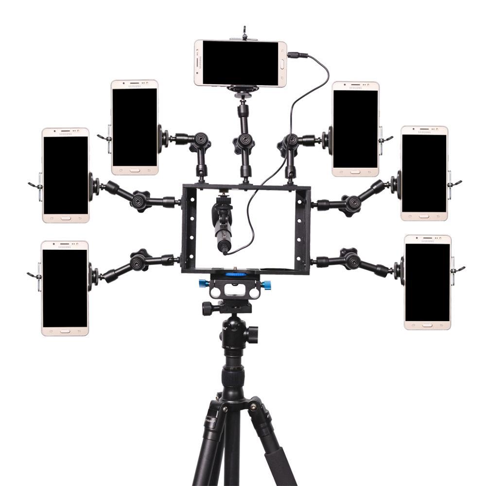 YELANGU 写真機材魔法の武器サポートカメラケージ用一眼レフカメラ