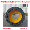 skid steer tyres loader with snow sweeper ditcherroad roller attachements rubber tire 16 70 20 with deep tread pattern groove