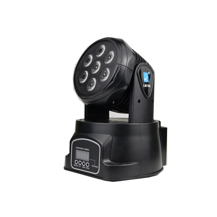 Hot sale LED mini Moving Head dj Light with Professional DMX Controls LM70S from big dipper