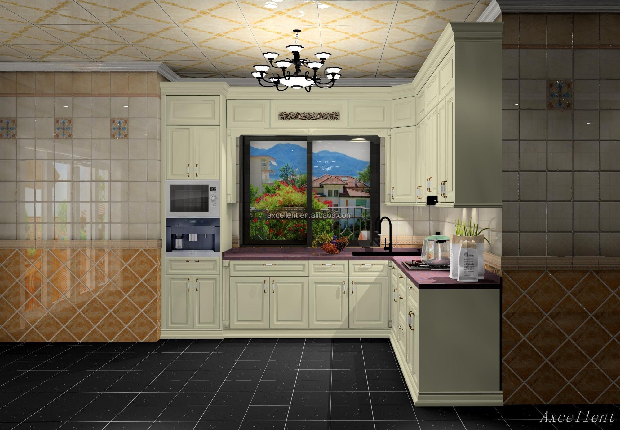 Cuisine Style Ancien style ancien en bois massif armoires de cuisine en bois de cerisier - buy  armoire de cuisine cerise,armoires de cuisine de style ancien,armoires de