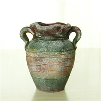 Maya style floor stand antique large flower terracotta pots wholesale