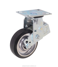 Good price shockproof wheels aluminum core heavy duty swivel rubber spring casters
