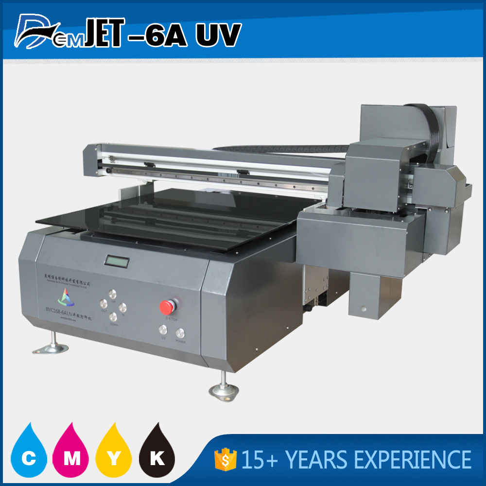 Professional 2880 DPI direct printing machine for candle with picture on it
