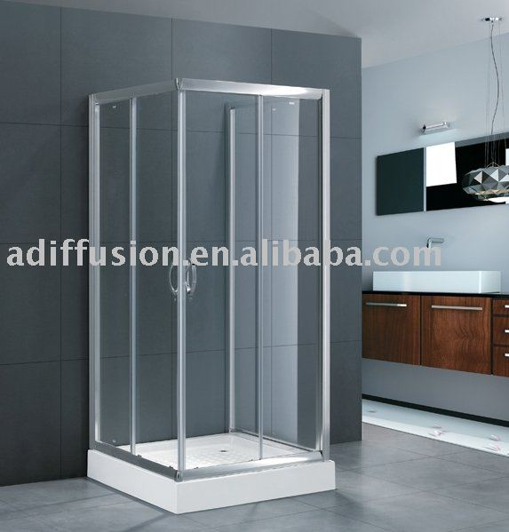 Gl Bathroom Entry Doors 3 Panel Shower Door Commercial Product On Alibaba