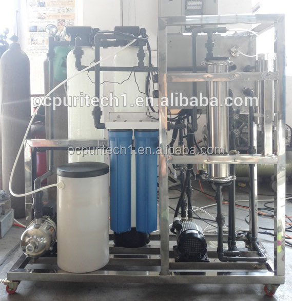 125 LpH direct drinking water reverse osmosis with pretreatment system